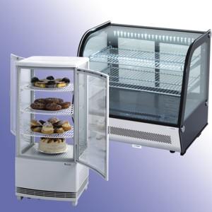 Witryny ekspozycyjne chłodnicze
